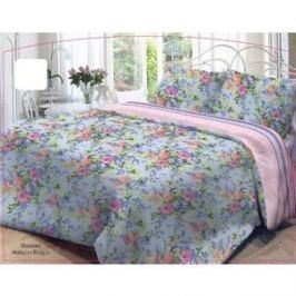 Комплект постельного белья Нежность 1,5 сп, бязь, Полина с наволочками 70x70 (191475)