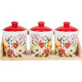 Набор банок для сыпучих продуктов 3 штуки Polystar Collection Summer (L2430916)