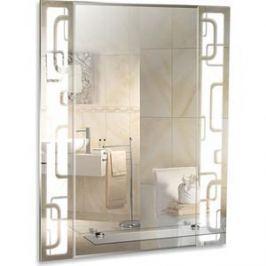 Зеркало Mixline Электра 540х680 полка/фацет/пескоструйный рисунок (4620001984442)