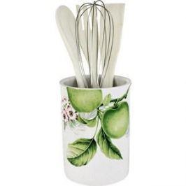 Банка-подставка с кухонными инструментами Imari Зеленые яблоки (IM55002-A2211AL)