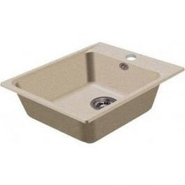 Мойка кухонная HARTE H-5051-310 510х510 мм серый