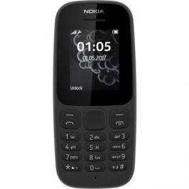 Мобильный телефон Nokia 105 (2017) Dual Sim Black
