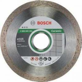 Диск алмазный Bosch 115.22.2 мм Standard for Ceramic (2.608.602.201)