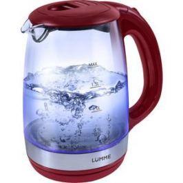 Чайник электрический Lumme LU-135 красный гранат