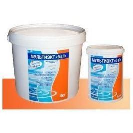 Комплексное средство для обеззараживания и очистки воды Маркопул Кэмиклс М64 Мультиэкт 6 в 1(4кг) картриджи