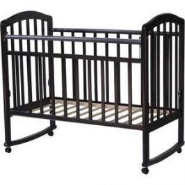 Кровать детская Антел Алита (2) а/с, колесо качалка махагон Алита-2 махагон