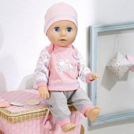 Zapf Creation Бэби Аннабель Кукла Учимся ходить, 43 см (700-136)