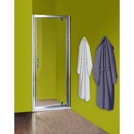 Душевая дверь Olive'S Granada D 100 реверсивная, профиль Silver глянцевый, стекло прозрачное 5 мм (GRAND-100-01C)