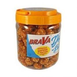 Лакомство BraVa Dog Snacks куриные шарики с рисом для собак 800 г (110697)