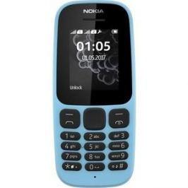 Мобильный телефон Nokia 105 (2017) Dual Sim Blue