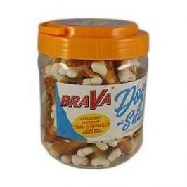 Лакомство BraVa Dog Snacks кальциевая косточка твин с курицей для собак 700 г (110698)