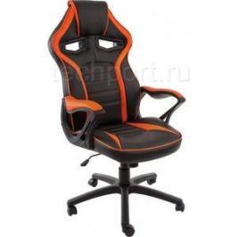 Компьютерное кресло Woodville Monza черное/оранжевое