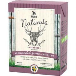 Консервы BOZITA Naturals Reindeer кусочки в желе с мясом оленя для собак 370г (4263)