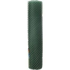 Решетка заборная Grinda цвет хаки (1.5x25 м ячейка 40x40 мм)
