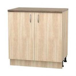 Шкаф напольный с дверью СМК Кармэн 80х85 дуб сонома