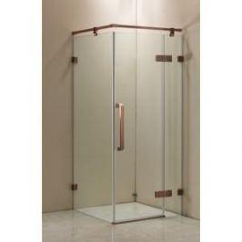 Душевой уголок Grossman 100x100x200 (ST-100RGQ) профиль розовое золото