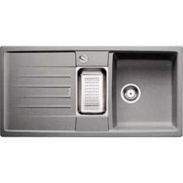 Мойка кухонная Blanco Lexa 6 s серый беж с клапаном-автоматом (517337)