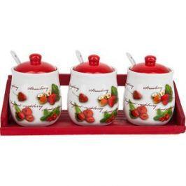 Набор банок для сыпучих продуктов 3 штуки Polystar Collection Садовая ягода (L2520267)