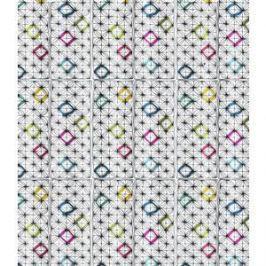 Штора для ванной Lemark Diamond shapes (C2018T010)