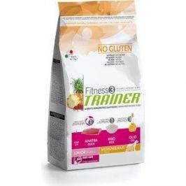 Сухой корм Trainer Fitness3 No Gluten Medium/Maxi Junior Duck&Rice без глютена с уткой и рисом для юниоров (9-24мес) средних и крупных пород 3кг