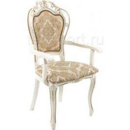 Кресло Woodville Bronte молочный.