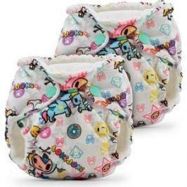 Многоразовые подгузники для новорожденных 2 шт. Kanga Care tokiBambino (646437266574)