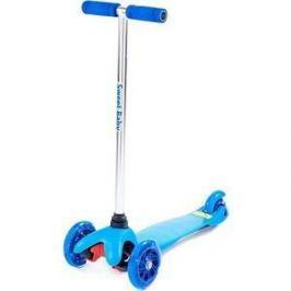 Самокат 3-х колесный Sweet Baby Triplex Light Blue