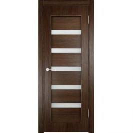 Дверь VERDA 32d остекленная 2000х900 экошпон Дуб табак