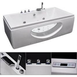 Акриловая ванна гидромассажная Grossman 180x90x65 (GR-18090)