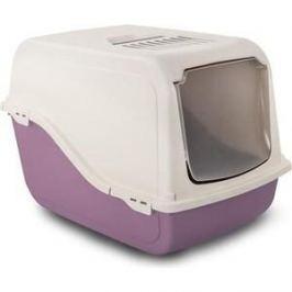Туалет MP-Bergamo Ariel закрытый с угольным фильтром для кошек 57*39*38см цвета в ассортименте (87497)