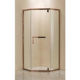 Душевой уголок Grossman 100x100x200 (PR-100RGD) профиль розовое золото