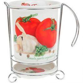 Подставка для кухонных принадлежностей Best Home Porcelain Кулинарный мир (M0600059)