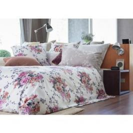 Комплект постельного белья TIFFANY'S secret Семейный, сатин, Жемчужное облако