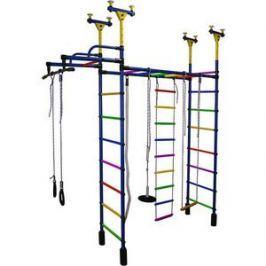 Детский спортивный комплекс Формула здоровья Слонёнок 1V Плюс синий/радуга