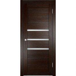 Дверь ELDORF Мюнхен-1 остекленная 1900х550 экошпон Дуб темный