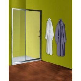 Душевая дверь Olive'S Granada SD 140 реверсивная, с неподвижной секцией, профиль Silver глянцевый, стекло прозрачное 5 мм (GRANSD-140-01C)