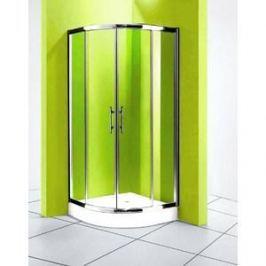 Душевой уголок Olive'S Granada R 90х90 профиль Silver глянцевый, стекло прозрачное 5 мм (GRANR-900-01C)