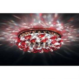 Точечный светильник Donolux DL061.02.1/6 crystal/red