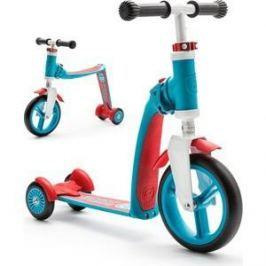 Scoot and Ride Самокат-беговел трансформер Highway Baby Plus Сине-красный (950888/цв 950894)