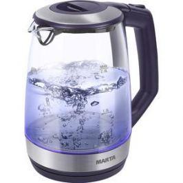 Чайник электрический Marta MT-1095 темный топаз
