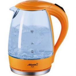 Чайник электрический Atlanta ATH-2461 оранжевый