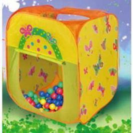 Игровая палатка Ching-Ching Бабочка, 85х85х100см + 100 шаров (CBH-21)