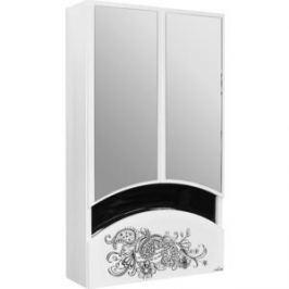 Шкаф навесной Mixline Радуга 46 Цветы белый (2131105280429)