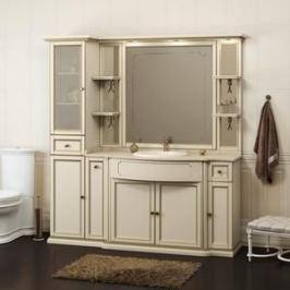 Мебель  без раковины и столешницы Opadiris Корсо Оро 174 № 6 слоновая кость, пенал слева (Z0000007387)