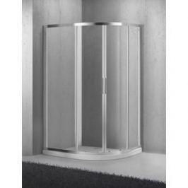 Душевой уголок BelBagno SELA-RH-2-100/80-Ch-Cr стекло Chinchilla