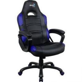 Кресло для геймера Aerocool AC80C AIR-BB черно-синее с перфорацией