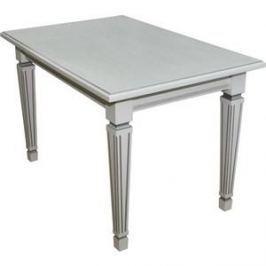 Стол обеденный Мебелик Васко 01 белый/патина 120/170x80
