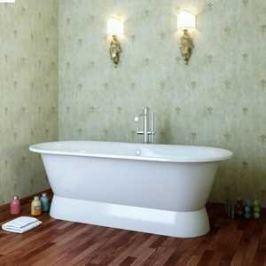 Ванна из литого мрамора Фэма Стиль Феррара 175х80 см на подиуме