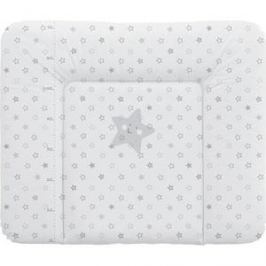 Матраc пеленальный Ceba Baby 70*85 см мягкий на комод Stars grey W-134-066-260
