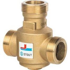 Смесительный клапан STOUT термостатический G 1 1/4 НР 55°С (SVM-0030-325504)